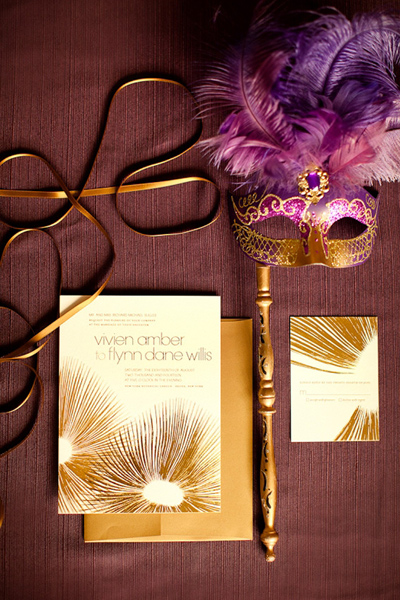 6-purple-gold-wedding-masquerade