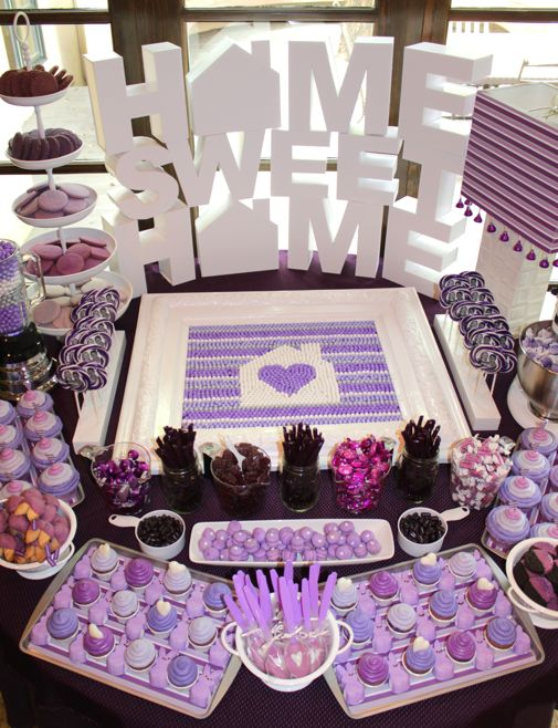 Purple dessert table3